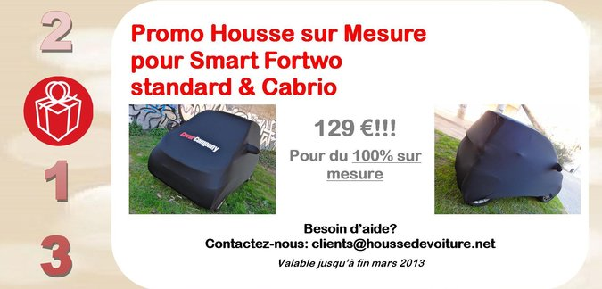 Promotion Housse SMART Cover Company France 2013